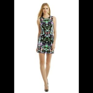 Milly Abstract Mini Dress